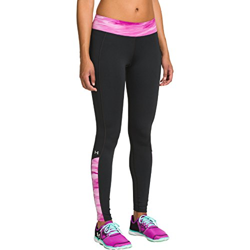 Shock Cozy Donna Silver camo Insets Black Cg Nero magenta metallic Armour Under Print Leggings fZqxIwBc8