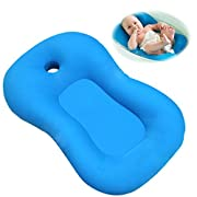 Asunflower Baby Bath Pillow Padding Soft Infant Lounger for Tub, Must Have Newborn Shower Pad