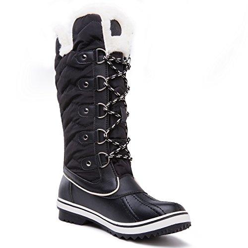 Black1711 Women's Kingshow Waterproof Winter Globalwin Boots T8UnBx