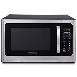 Farberware Professional FMO12AHTBKE 1.2 Cu. Ft. 1100-Watt Microwave Oven With Smart Sensor Cooking and LED Lighting… 2