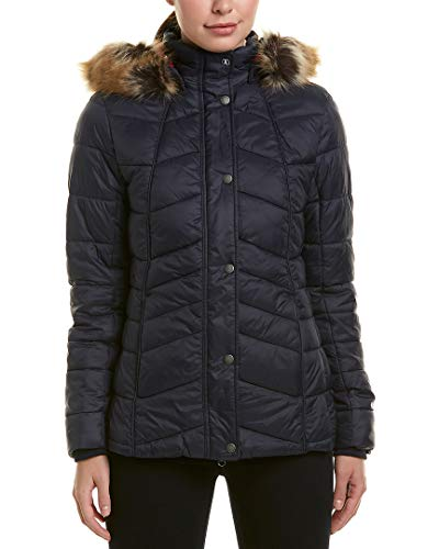 Barbour Womens Bernera Quilted Jacket, 14, Blue