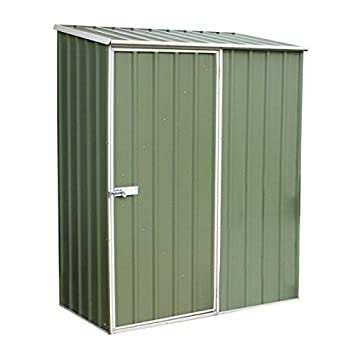 Nova 5 x 3 verde titanio Pent Metal cobertizo - barato cobertizos - Cobertizos: Amazon.es: Jardín