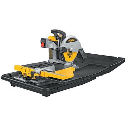 Factory-Reconditioned DEWALT D24000R Heavy-Duty 1.5 Horsepower 10-Inch Wet Tile Saw