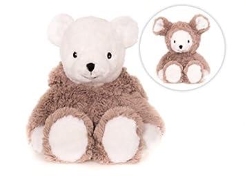 Cojín de ratón oso para calentar en el microondas: Amazon.es ...