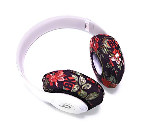 Beat Kicks Washable Headphone Covers - Floral (Best Beats By Dre For Working Out)