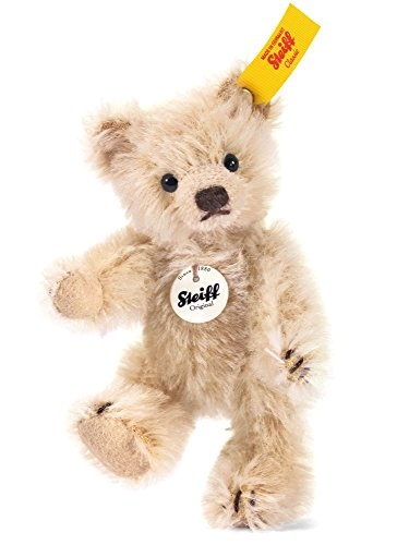 Steiff Mini Teddy Bear, Blond - Mohair Blonde