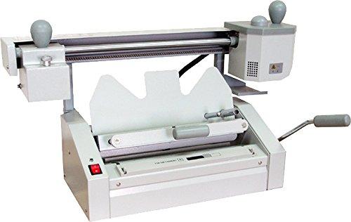 Perfect Binding Machine Hot Melt Glue Book Binder with Roughener Unit-pgo by Dingword
