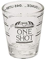 Fox Run 5028 Shot Glass with Measurements, 1.5-Ounce
