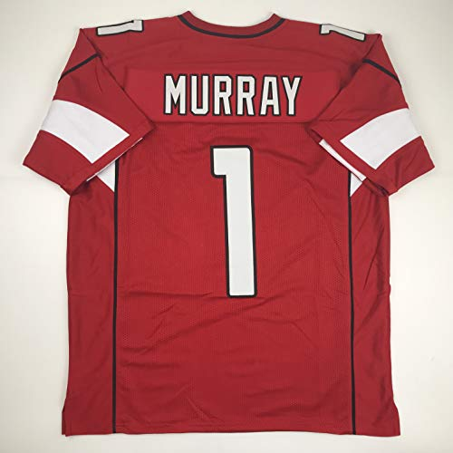 - Unsigned Kyler Murray Arizona Red Custom Stitched Football Jersey Size Men's XL New No Brands/Logos