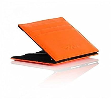 acbbbdc011 Vip Flap Portafoglio Porta Carte Linea Leather Colored Edition (ARANCIO)