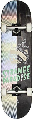 GLOBE Skateboards Globe Half Prism Complete Snaked Street Complete Skateboard, Snake, 7.625Fu