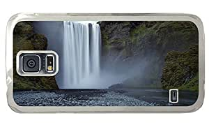 Hipster Samsung Galaxy S5 Case shop waterfall hd PC Transparent for Samsung S5
