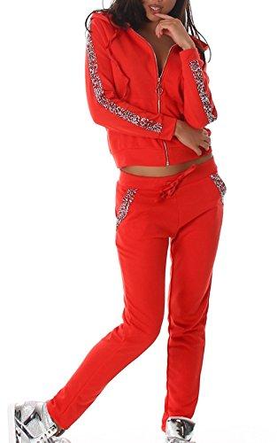 IL BAZAR - Chándal - para mujer Rojo