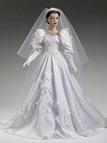 Amazon.com: Gone With the Wind Scarlett Wedding Day Tonner Doll ...