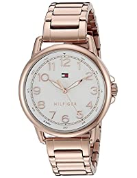 Tommy Hilfiger Women's 1781657 Casey Analog Display Japanese Quartz Rose Gold Watch