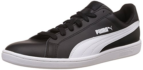 Negro Zapatillas Smash Puma L white black Unisex Adulto XAfnnqPx