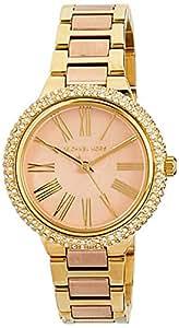 Michael Kors Women's Quartz Watch analog Display and Stainless Steel Strap, MK6564I