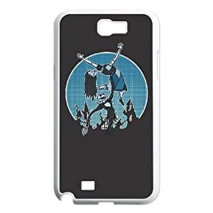 Samsung Galaxy N2 7100 Cell Phone Case White JACK AND SALLY LV7008003