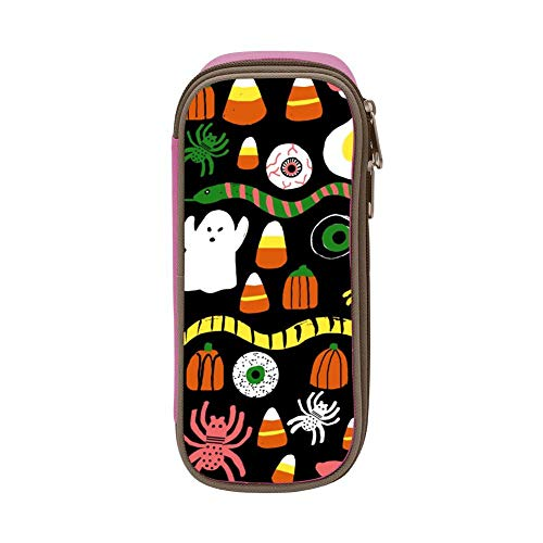 Pencil Case Halloween Ghost Eye Pencil Pouch Organizer Large Capacity -