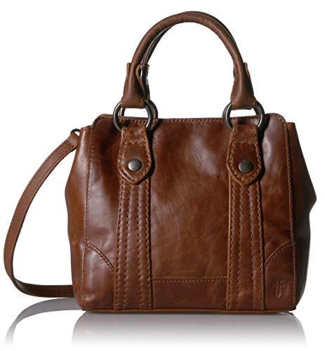 Frye Melissa Mini Leather Crossbody Tote Bag