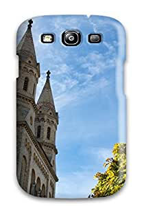 2302817K84101315 Fashionable Galaxy S3 Case Cover For Old Church Protective Case