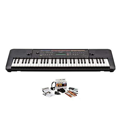 Yamaha PSR-E263 KIT, 61 Key Portable Keyboard with SK B2 Kit by Yamaha