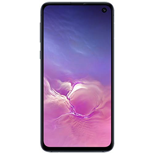 Samsung Galaxy S10e Factory Unlocked Android Cell Phone | US Version | 128GB of Storage | Fingerprint ID and Facial Recognition | Long-Lasting Battery | U.S. Warranty | Prism Black