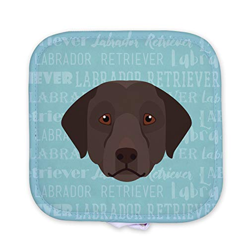 - Mystic Sloth Adorable Dog Breed Specific Potholder Hot Pad (Chocolate Labrador)