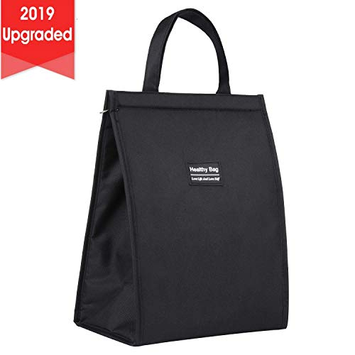 insulated bag with zipper - 1
