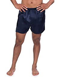 Men's 100% Silk Dress Boxers - Underwear for Men by TexereSilk (Board Room)