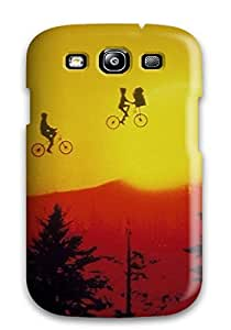 New CnoNZbu5032cBTll Et The Extra Terrestrial People Movie Skin Case Cover Shatterproof Case For Galaxy S3