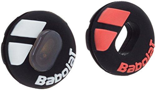 (Babolat Custom Damp Vibration Dampener (Black/Fluo Red))