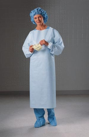Halyard Health Impervious Comfort Gown, Universal Size Part No. 69600 (100/case) by Halyard Health, LLC (Image #1)