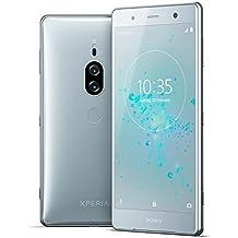 "Sony Xperia XZ2 Premium Unlocked Smarphone - Dual SIM - 5.8"" 4K HDR Screen - 64GB - Chrome Silver (US Warranty)"