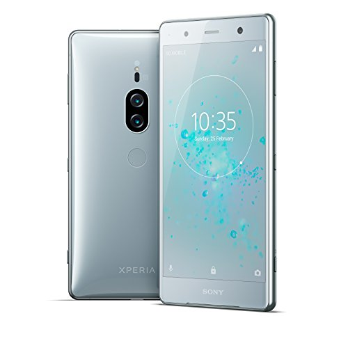 "Sony Xperia XZ2 Premium Unlocked Smartphone - Dual SIM - 5.8"" 4K HDR Screen - 64GB - Chrome Silver (US Warranty)"