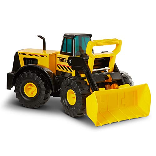 (Tonka 90697 Classic Steel Front End Loader Vehicle)