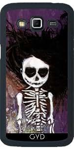 Funda para Samsung Galaxy Grand 2 (SM-G7105) - i esqueleto by Rouble Rust