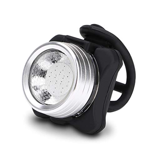 New!DEESEE(TM)Cycling Bicycle Bike 3 LED Head Front with USB Rechargeable Tail Clip Light Lamp (Head And Tail Lights For Bike)