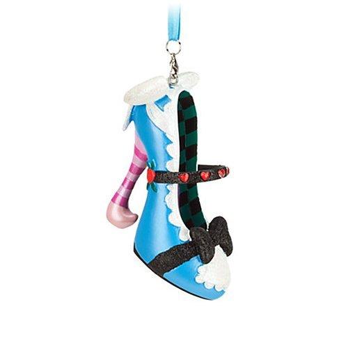 Disney US Than Park 'Alice in Wonderland Shoe Ornament' ( Alice in Wonderland Shoe Ornament -