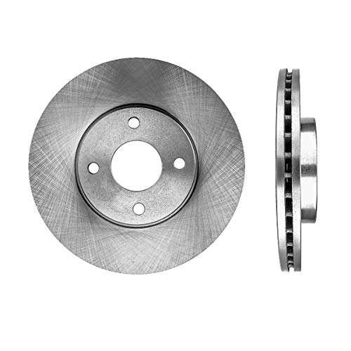 (FRONT Premium Grade OE 278 mm 4 Lug [2] Rotors Set CBO200273 [ for Ford Focus 2002 2003 2004 SVT Models ])