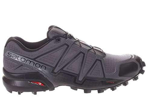 Salomon Wings Pro 2, Chaussures de Running Compétition Homme Dark Cloud / Black / Pearl Grey
