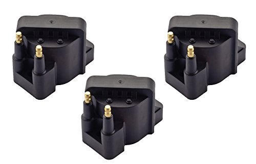 Pack of 3 Ignition Coil Pack for Buick Cadillac Chevrolet Oldsmobile Pontiac Compatible with L4 V6 C849 DR39 5C1058 E530C D555 ()