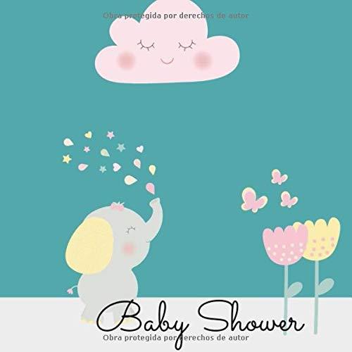 Baby Shower: Libro de visitas para baby shower I primer ...
