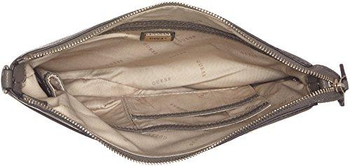 Guess Bags H fog 6 5x28 Centimeters Mujer Negro Bandolera Bolso w Para L Hobo Gris X 5x22 11wrqF