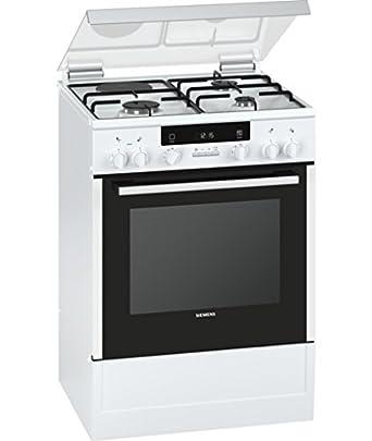 site réputé e33c0 9fd59 Siemens iQ300 Cuisinière Cuisinière à gaz Blanc - Fours et ...