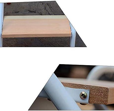 XITER-Tritthocker Leiterhocker Multifunktions-Klappst/ühle Dreischichtstufen Massivholz Iibrary Farbe : Braun