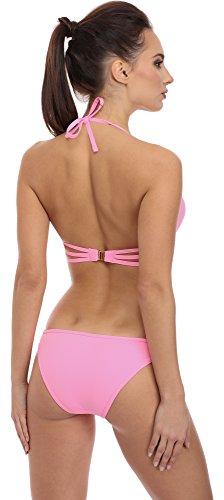SHE Mujer Bikini Set Grace Rosa (23FE)