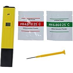 TOOGOO(R)Digital PH Meter Tester Water LCD Monitor Aquarium Pen Type