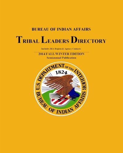 Tribal Leaders Directory: 2014 Fall/Winter Edition