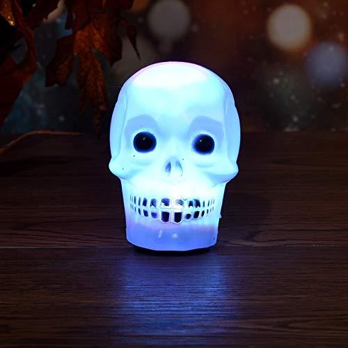 Party DIY Decorations - Halloween Light LED Pumpkin Lamp For Party Decoration Pumpkin Lamp halloween decoration horror skeleton halloween - (Color: B) -